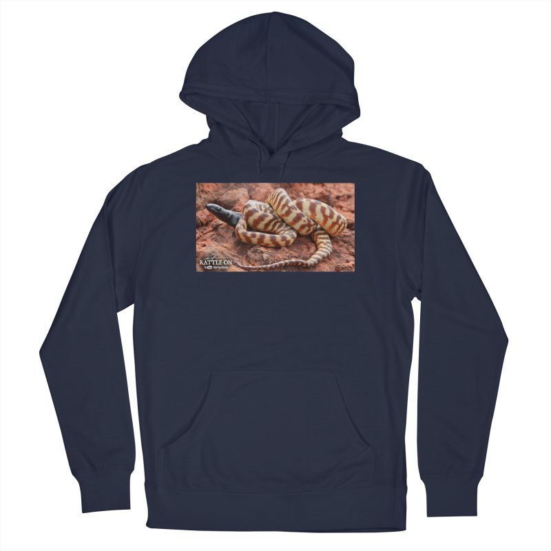 Black Headed Python Men's Pullover Hoody by Dav Kaufman's Swag Shop!