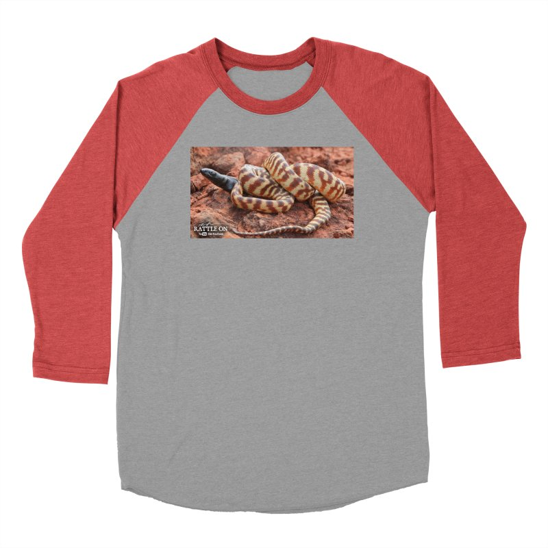 Black Headed Python Men's Longsleeve T-Shirt by Dav Kaufman's Swag Shop!