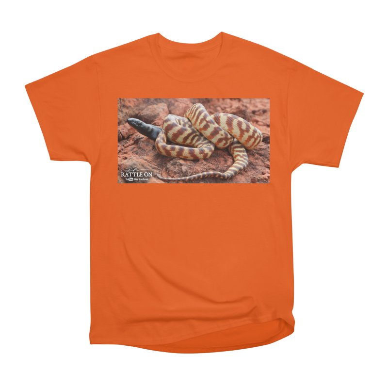 Black Headed Python Men's T-Shirt by Dav Kaufman's Swag Shop!