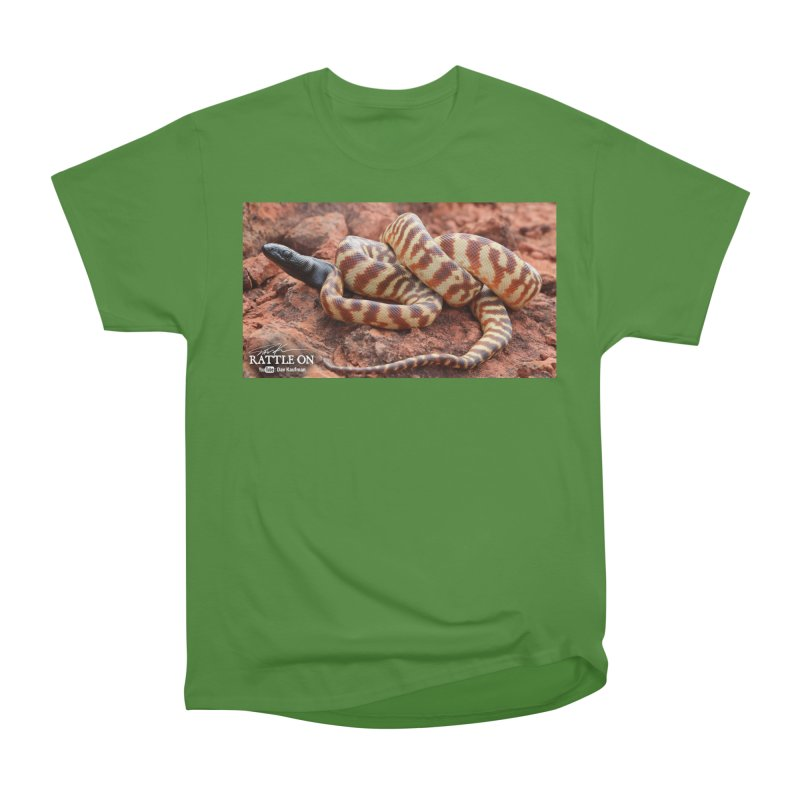 Black Headed Python Men's Classic T-Shirt by Dav Kaufman's Swag Shop!
