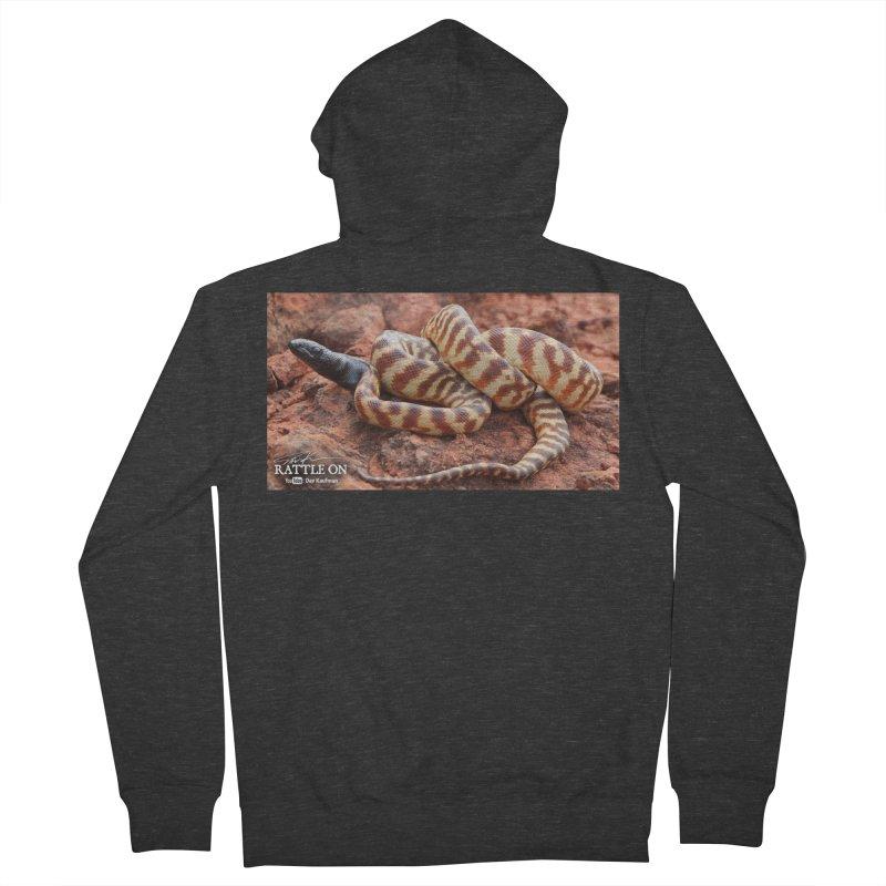 Black Headed Python Women's Zip-Up Hoody by Dav Kaufman's Swag Shop!