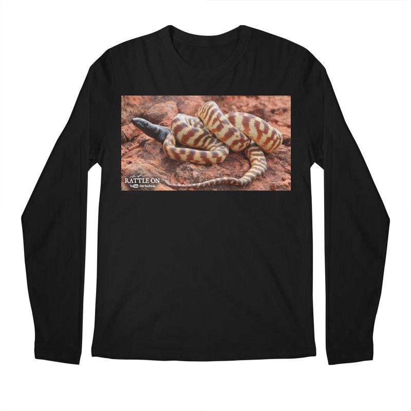 Black Headed Python Men's Regular Longsleeve T-Shirt by Dav Kaufman's Swag Shop!