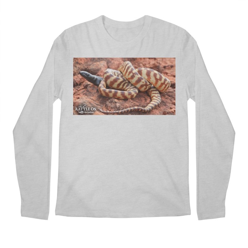 Black Headed Python Men's Regular Longsleeve T-Shirt by Dav Kaufman's Swag Shop!