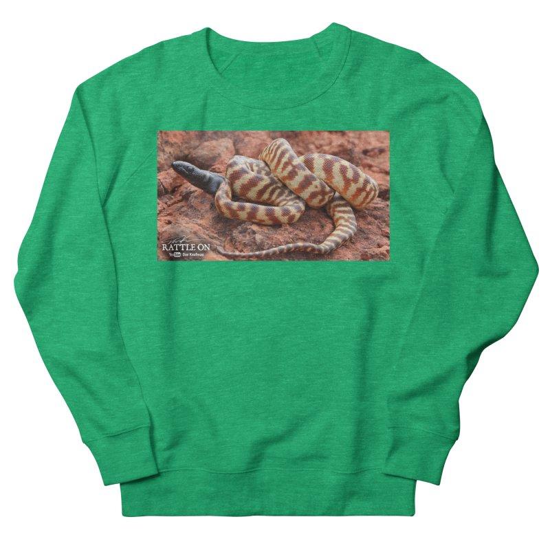 Black Headed Python Women's Sweatshirt by Dav Kaufman's Swag Shop!