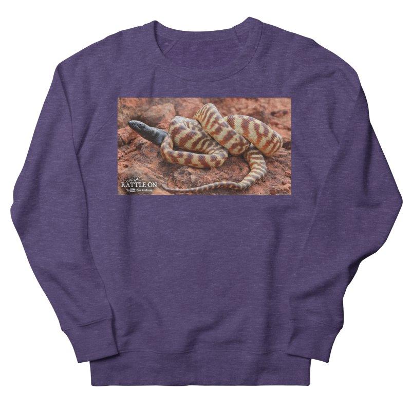 Black Headed Python Men's French Terry Sweatshirt by Dav Kaufman's Swag Shop!