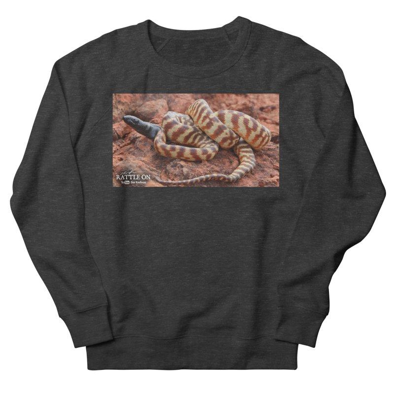 Black Headed Python Men's Sweatshirt by Dav Kaufman's Swag Shop!