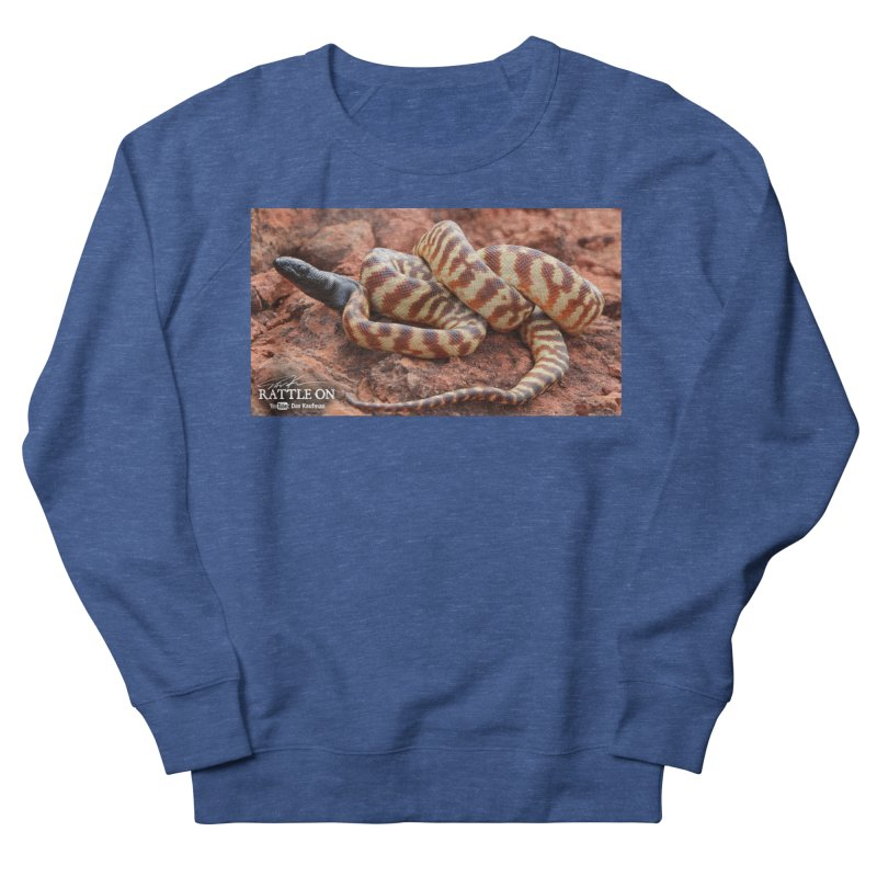 Black Headed Python Men's Sweatshirt by Dav Kaufman's Swag Shop!