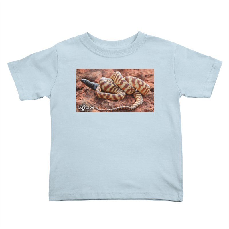 Black Headed Python Kids Toddler T-Shirt by Dav Kaufman's Swag Shop!