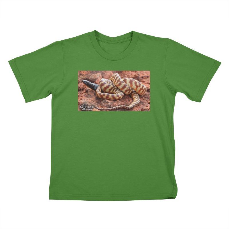 Black Headed Python Kids T-Shirt by Dav Kaufman's Swag Shop!