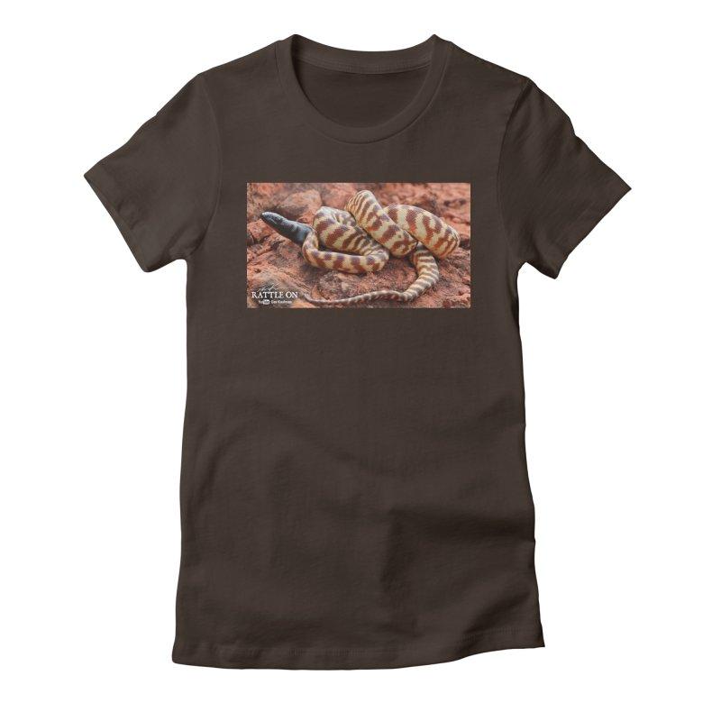 Black Headed Python Women's T-Shirt by Dav Kaufman's Swag Shop!