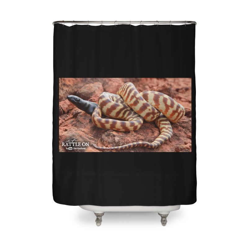 Black Headed Python Home Shower Curtain by Dav Kaufman's Swag Shop!