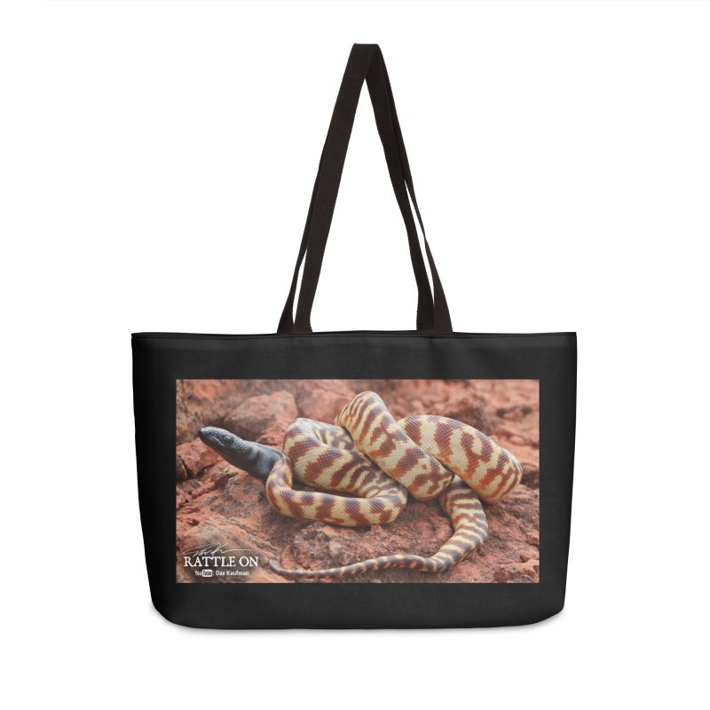 Black Headed Python Accessories Weekender Bag Bag by Dav Kaufman's Swag Shop!