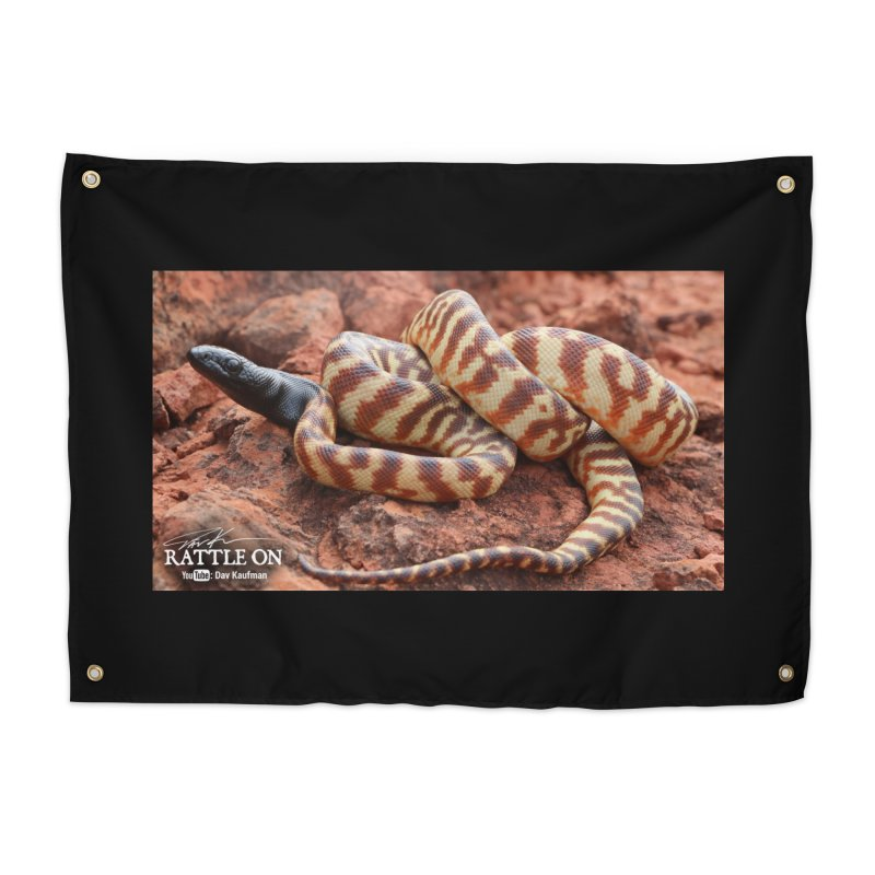 Black Headed Python Home Tapestry by Dav Kaufman's Swag Shop!