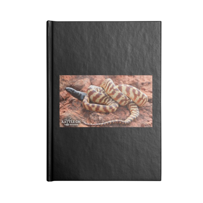Black Headed Python Accessories Lined Journal Notebook by Dav Kaufman's Swag Shop!