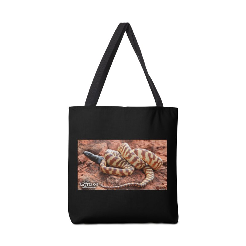Black Headed Python Accessories Bag by Dav Kaufman's Swag Shop!