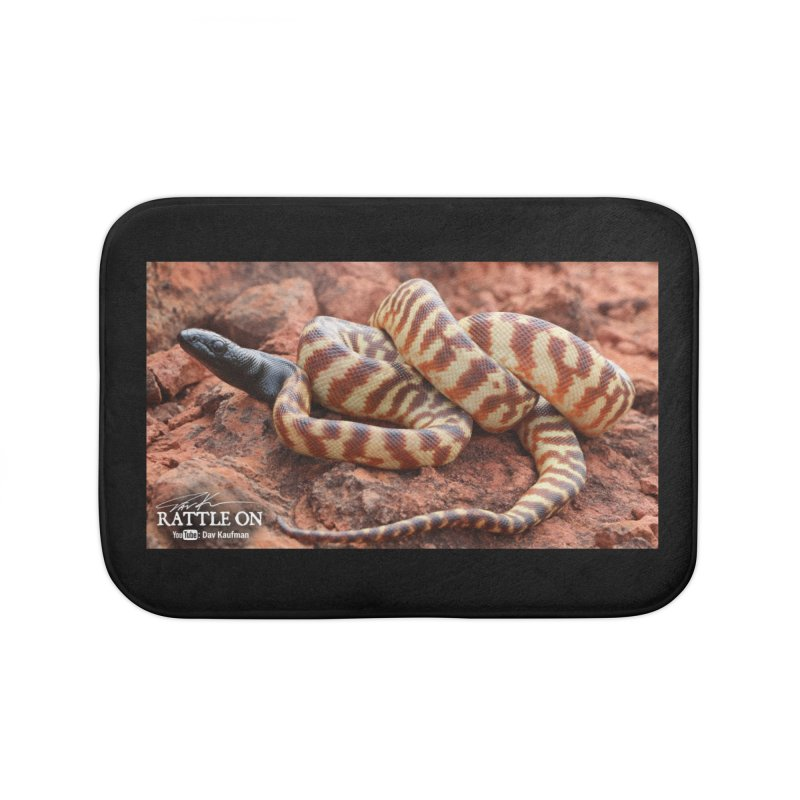 Black Headed Python Home Bath Mat by Dav Kaufman's Swag Shop!