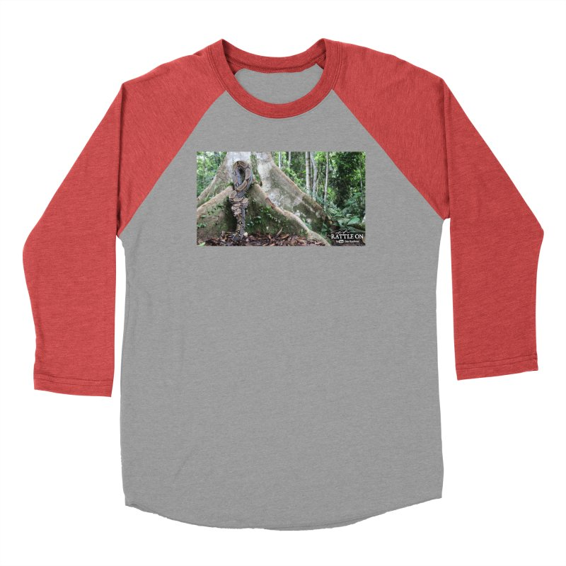 Peruvian Red-tailed Boa Men's Longsleeve T-Shirt by Dav Kaufman's Swag Shop!