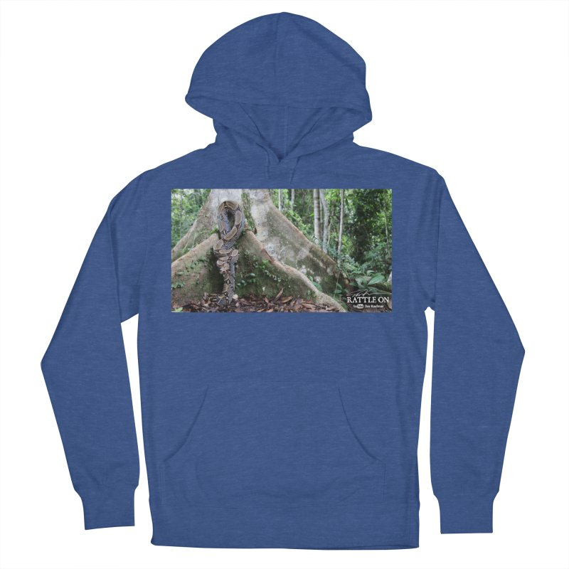 Peruvian Red-tailed Boa Women's French Terry Pullover Hoody by Dav Kaufman's Swag Shop!