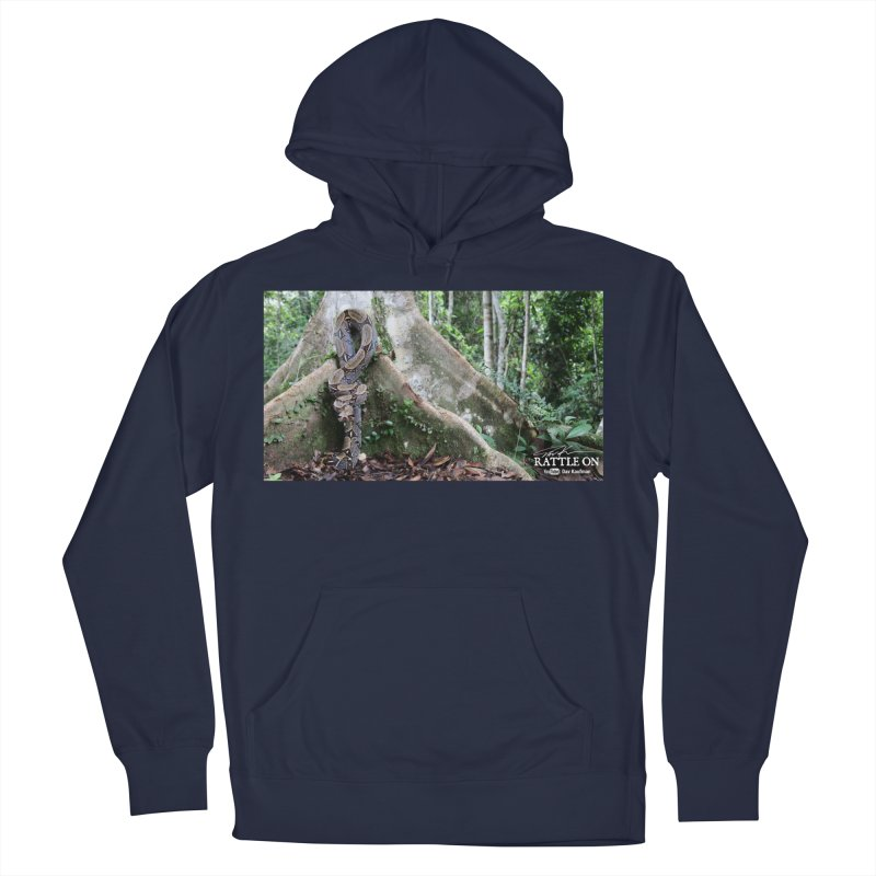 Peruvian Red-tailed Boa Men's French Terry Pullover Hoody by Dav Kaufman's Swag Shop!