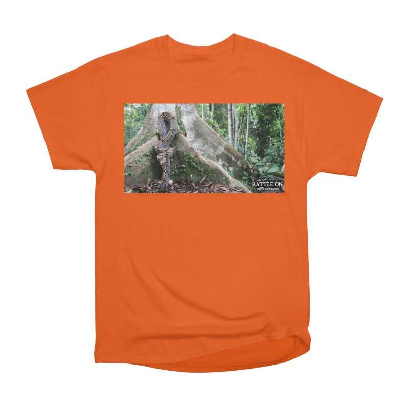 Peruvian Red-tailed Boa Men's T-Shirt by Dav Kaufman's Swag Shop!