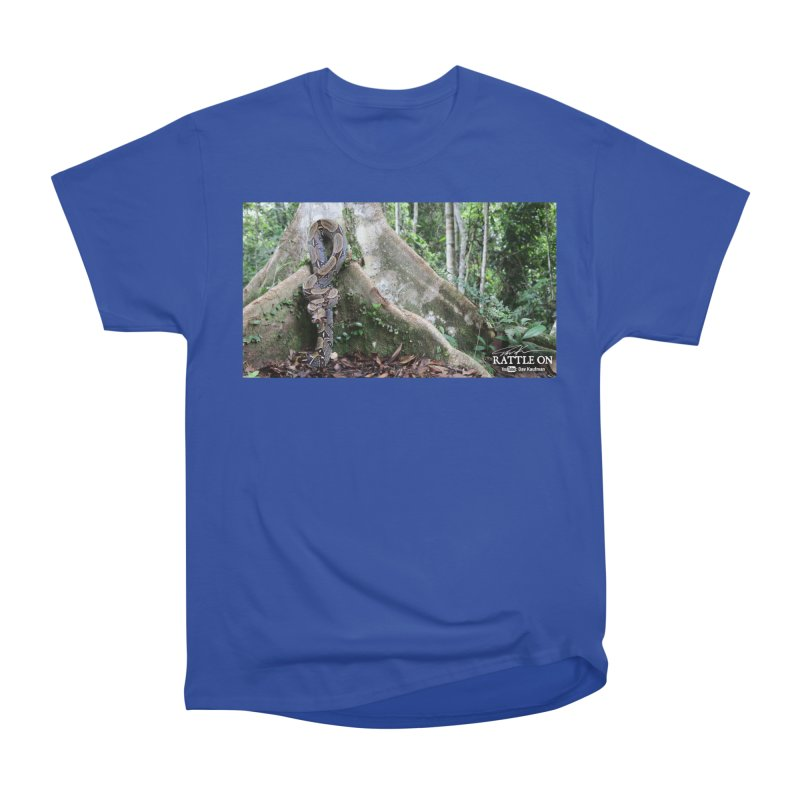 Peruvian Red-tailed Boa Men's Heavyweight T-Shirt by Dav Kaufman's Swag Shop!