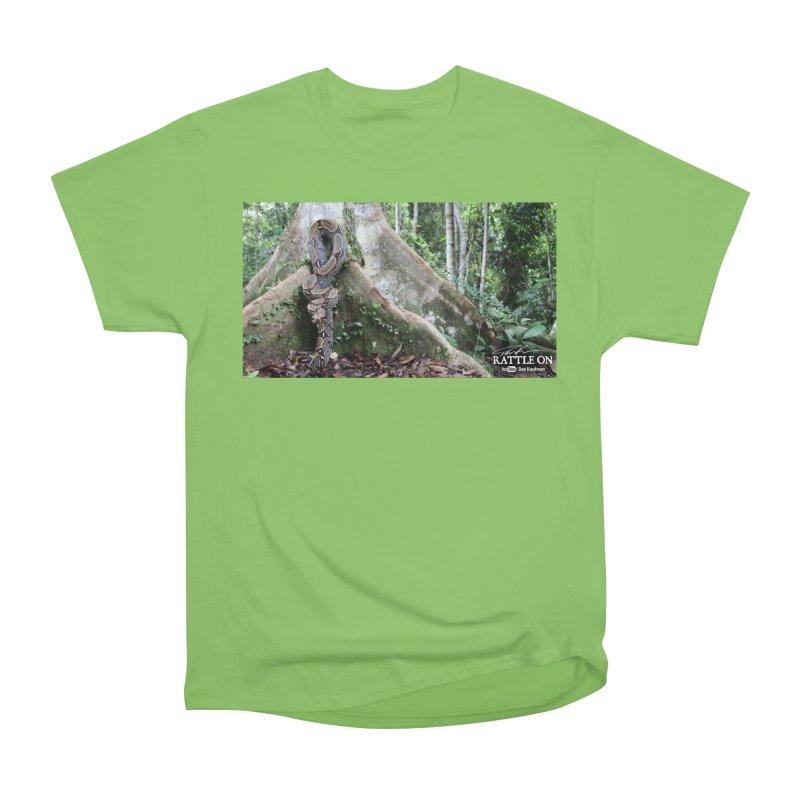 Peruvian Red-tailed Boa Women's Heavyweight Unisex T-Shirt by Dav Kaufman's Swag Shop!