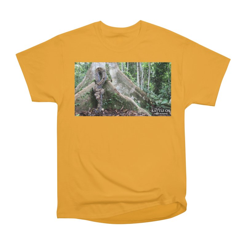 Peruvian Red-tailed Boa Women's Heavyweight Unisex T-Shirt by Dav Kaufman's Swag Shop!