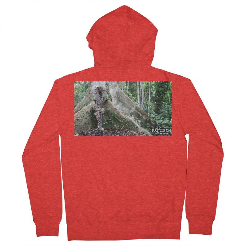 Peruvian Red-tailed Boa Women's Zip-Up Hoody by Dav Kaufman's Swag Shop!