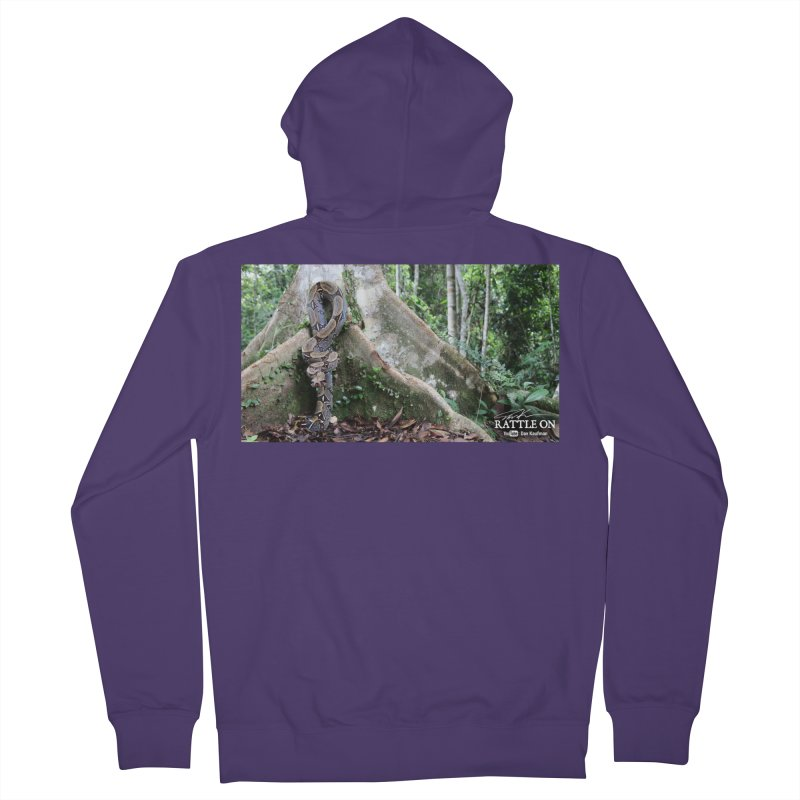 Peruvian Red-tailed Boa Women's Zip-Up Hoody by Dav Kaufman's Swag Shop!