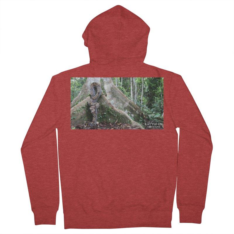 Peruvian Red-tailed Boa Men's Zip-Up Hoody by Dav Kaufman's Swag Shop!