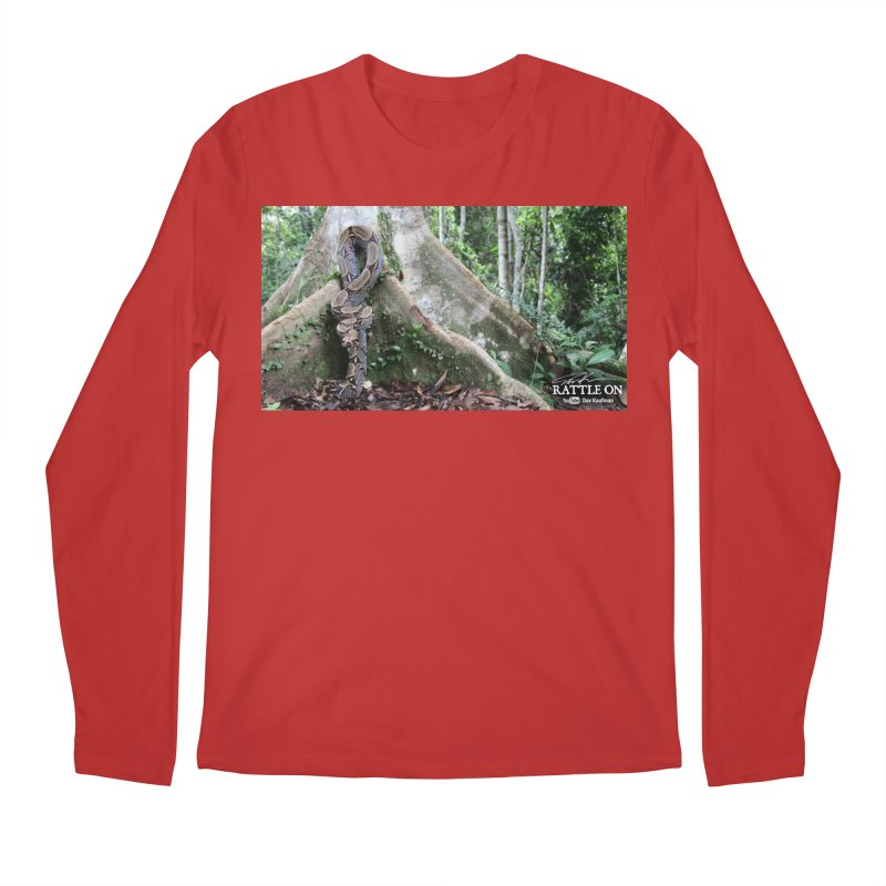 Peruvian Red-tailed Boa Men's Regular Longsleeve T-Shirt by Dav Kaufman's Swag Shop!