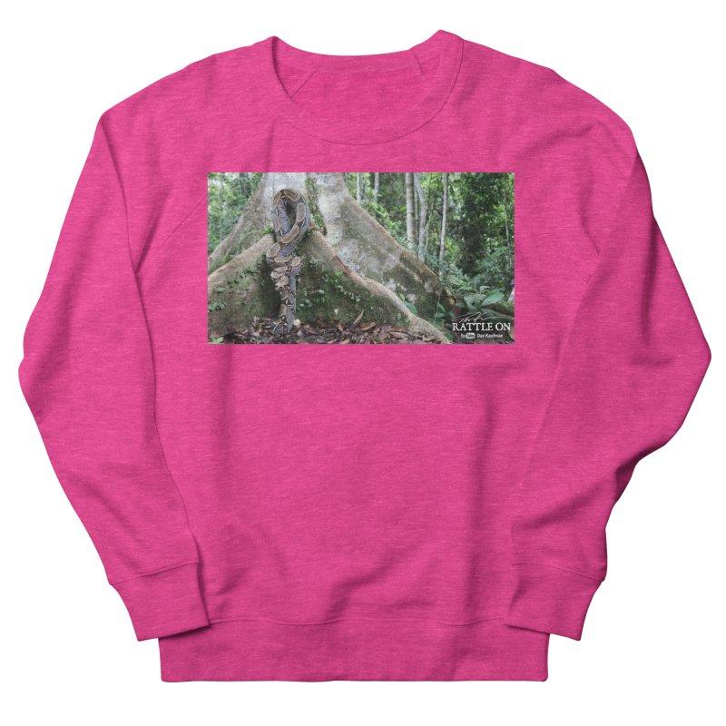 Peruvian Red-tailed Boa Women's French Terry Sweatshirt by Dav Kaufman's Swag Shop!