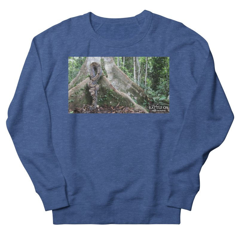 Peruvian Red-tailed Boa Men's French Terry Sweatshirt by Dav Kaufman's Swag Shop!