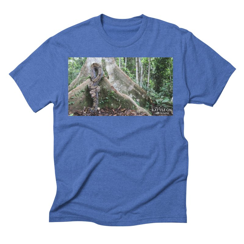 Peruvian Red-tailed Boa Men's Triblend T-Shirt by Dav Kaufman's Swag Shop!