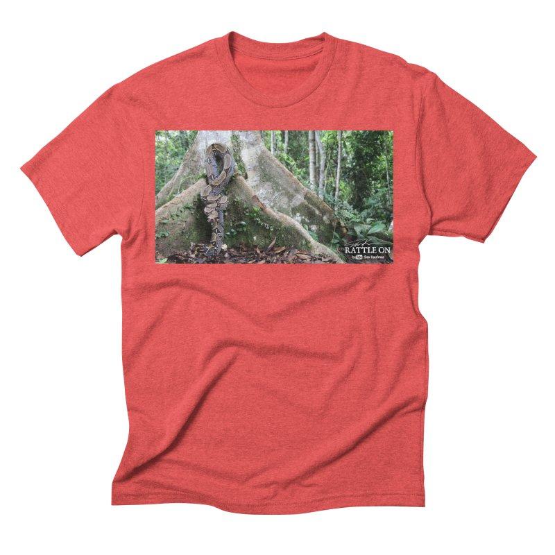 Peruvian Red-tailed Boa Men's Triblend T-Shirt by Dav Kaufman's Swag Shop!