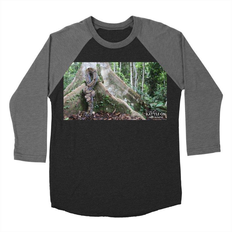 Peruvian Red-tailed Boa Women's Baseball Triblend T-Shirt by Dav Kaufman's Swag Shop!