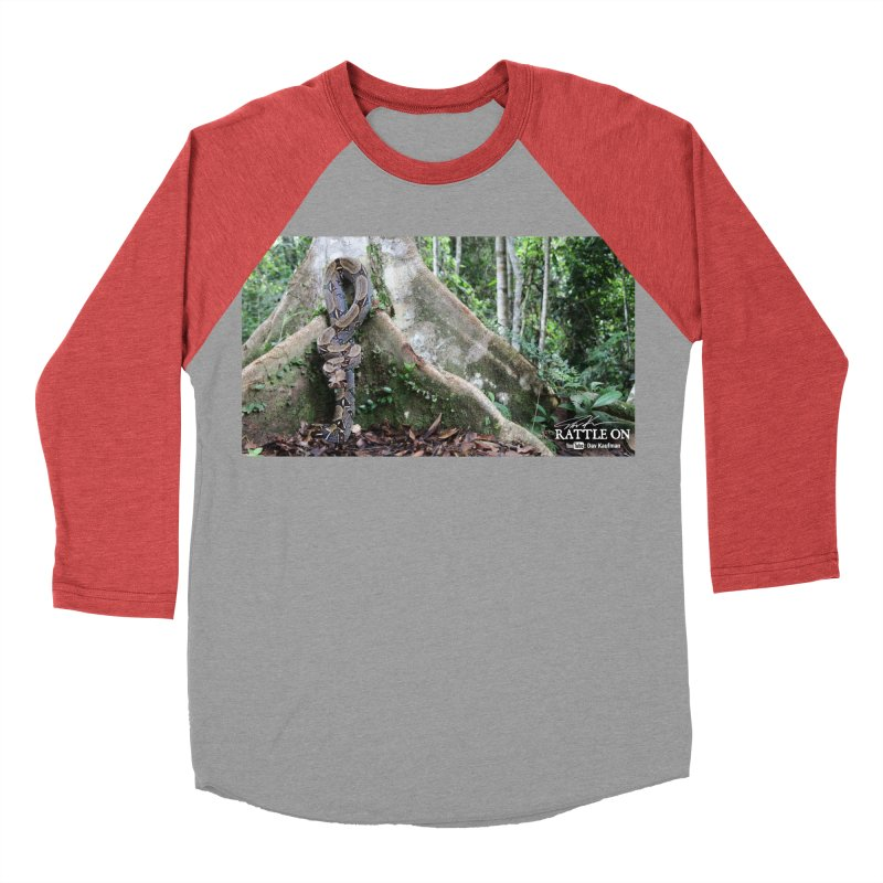 Peruvian Red-tailed Boa Men's Longsleeve T-Shirt by Dav Kaufman's Swag Shop!