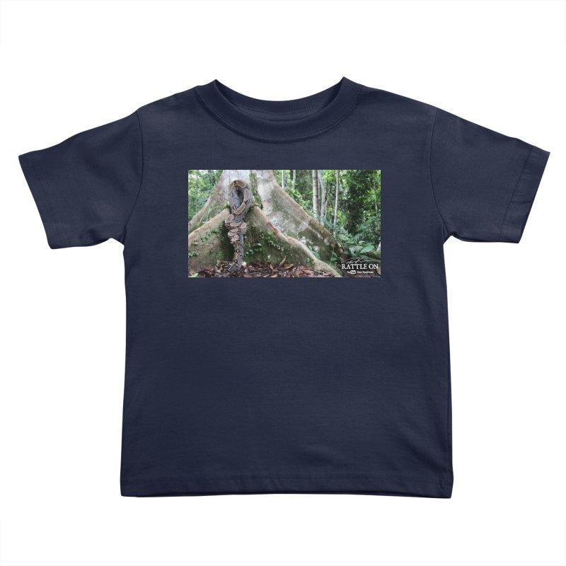 Peruvian Red-tailed Boa Kids Toddler T-Shirt by Dav Kaufman's Swag Shop!