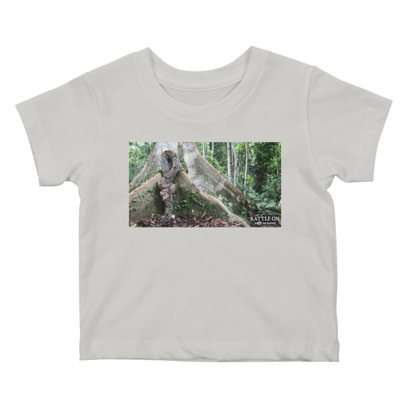 Peruvian Red-tailed Boa Kids Baby T-Shirt by Dav Kaufman's Swag Shop!