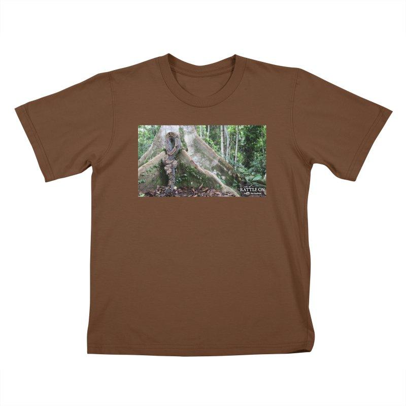 Peruvian Red-tailed Boa Kids T-Shirt by Dav Kaufman's Swag Shop!