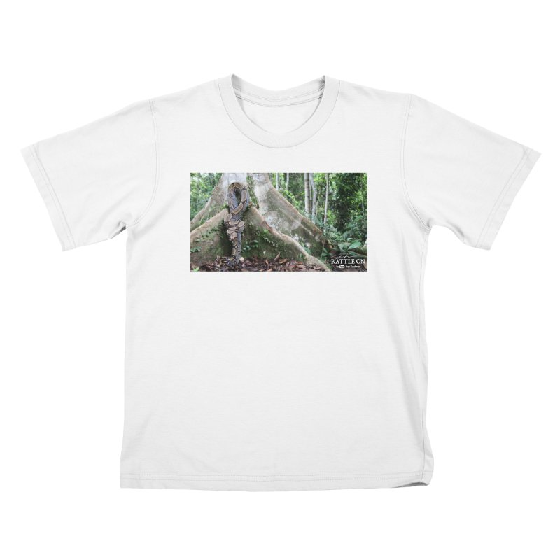Peruvian Red-tailed Boa Kids T-Shirt by Dav Kaufman's Swag Shop!