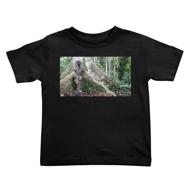 Peruvian Red-tailed Boa Kids Toddler T-Shirt by Dav Kaufman's Swag Shop!