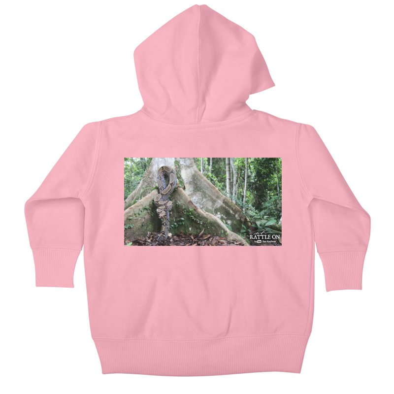 Peruvian Red-tailed Boa Kids Baby Zip-Up Hoody by Dav Kaufman's Swag Shop!