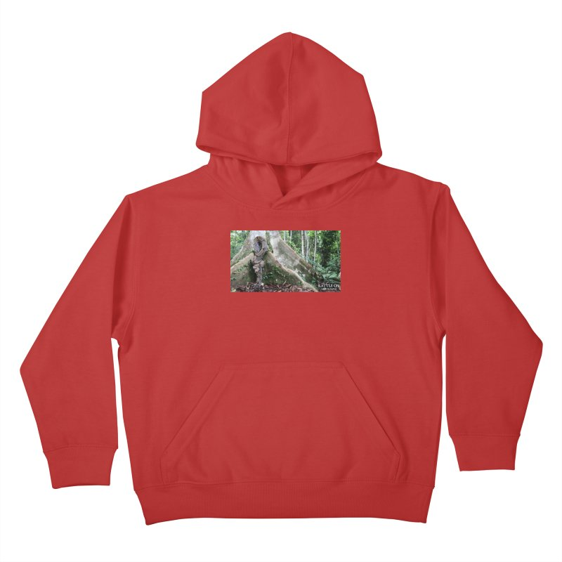 Peruvian Red-tailed Boa Kids Pullover Hoody by Dav Kaufman's Swag Shop!