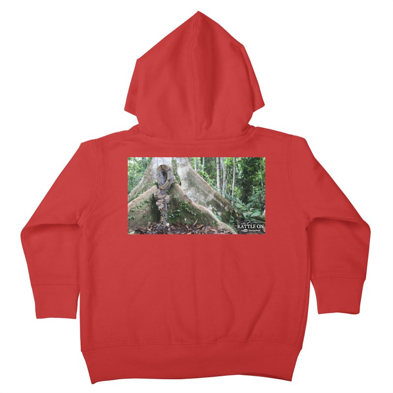 Peruvian Red-tailed Boa Kids Toddler Zip-Up Hoody by Dav Kaufman's Swag Shop!