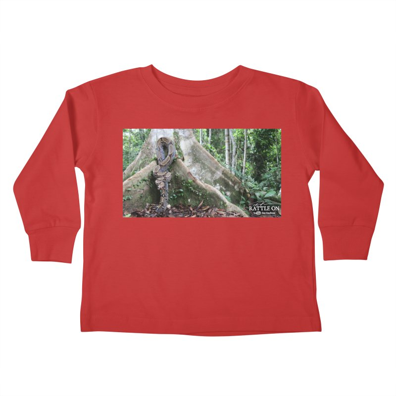 Peruvian Red-tailed Boa Kids Toddler Longsleeve T-Shirt by Dav Kaufman's Swag Shop!