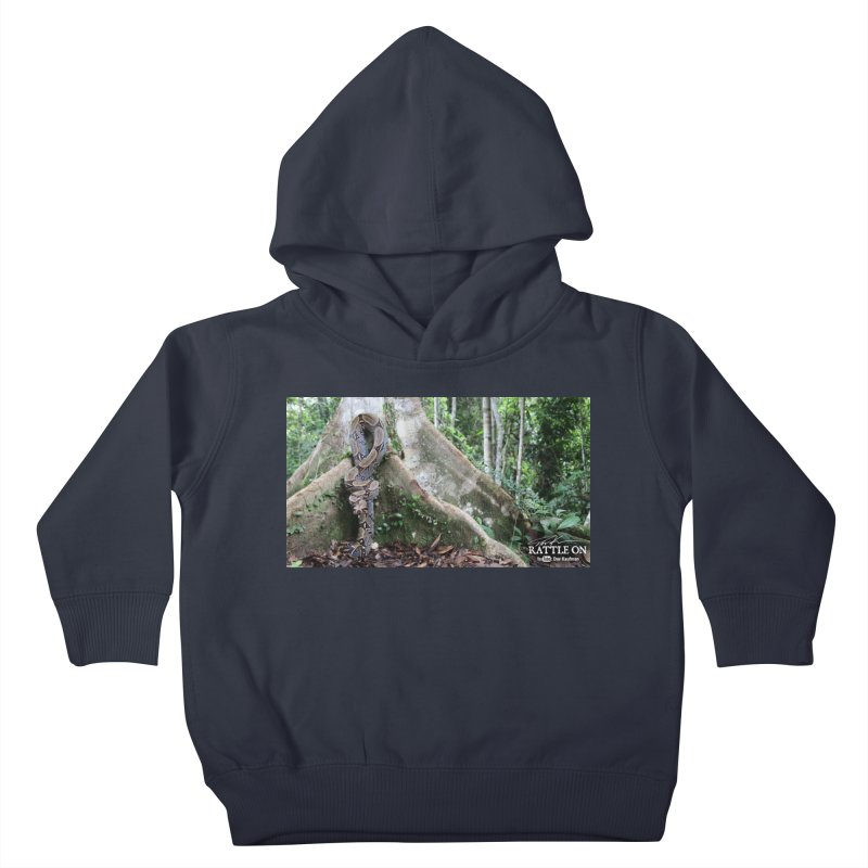 Peruvian Red-tailed Boa Kids Toddler Pullover Hoody by Dav Kaufman's Swag Shop!