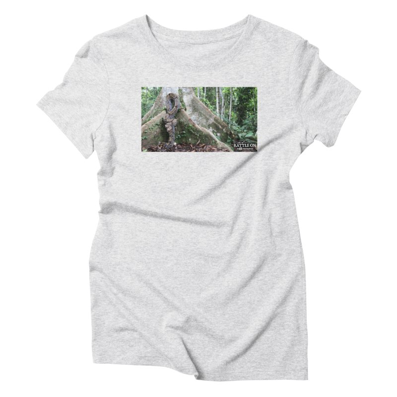 Peruvian Red-tailed Boa Women's T-Shirt by Dav Kaufman's Swag Shop!