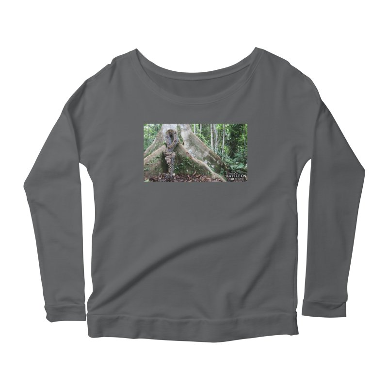 Peruvian Red-tailed Boa Women's Scoop Neck Longsleeve T-Shirt by Dav Kaufman's Swag Shop!