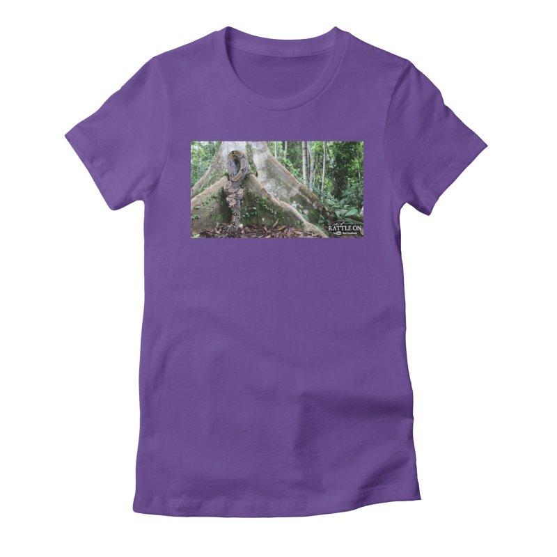 Peruvian Red-tailed Boa Women's T-Shirt by Dav Kaufman's Swag Shop!
